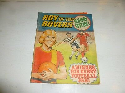 ROY OF THE ROVERS - Holiday Special - Year 1979 - UK Paper Comic