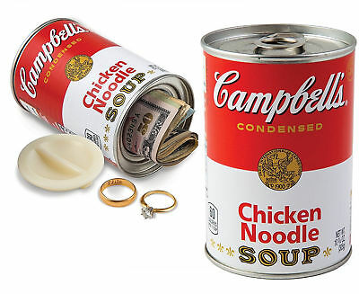 Hidden Safe Container Keep Secret Diversion Can Stash Campbell's Chicken Soup