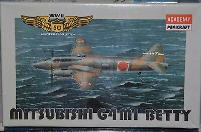Minicraft - Mitsubishi G4 M1 BETTY jap. Bomber - in OVP - absolut top, sehr rar
