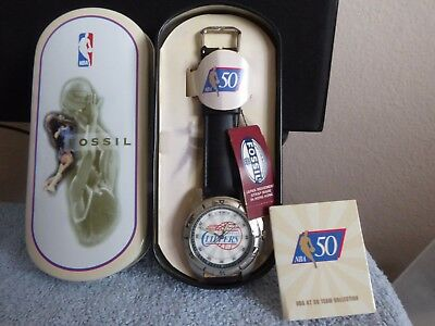 Vintage Fossil NBA L.A. Clippers, New In Box!!