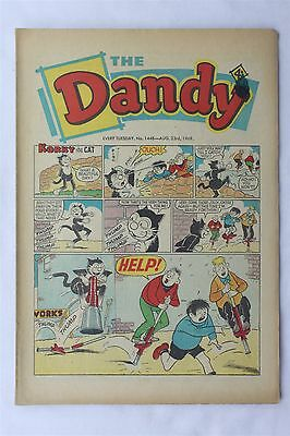 The Dandy 1448 August 1969 Vintage UK Comic Korky The Cat Desperate Dan