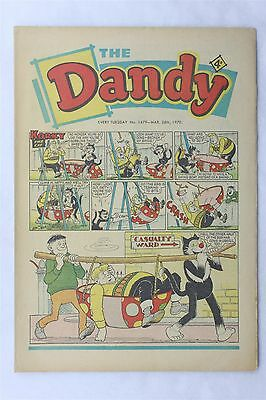 The Dandy 1479 March 28th 1970 Vintage UK Comic Korky The Cat Desperate Dan