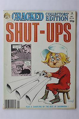 Cracked Collectors Edition Magazine May #46 1982 Shut-Ups Humour Robert Sproul