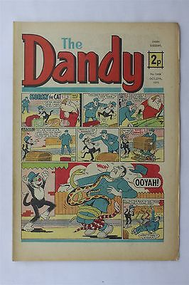 The Dandy 1666 October 27th 1973 Vintage UK Comic Korky The Cat Desperate Dan