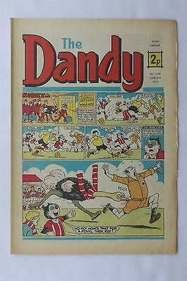The Dandy 1645 June 2nd 1973 Vintage UK Comic Korky The Cat Desperate Dan