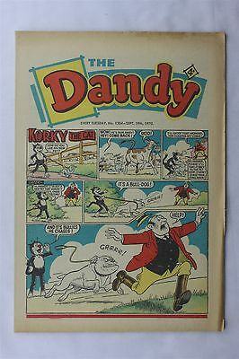 The Dandy 1504 September 19th 1970 Vintage UK Comic Korky The Cat Desperate Dan