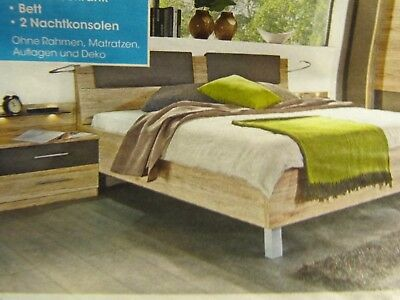 bett doppelbett diky divas 200 x 200 cm wildeiche ge lt eur 669 00 picclick de. Black Bedroom Furniture Sets. Home Design Ideas