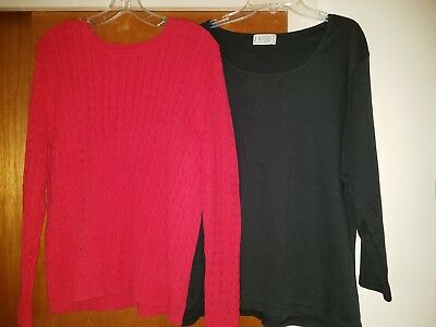 Lot of 2 Women's Tops size XL