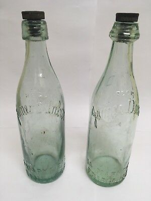 James Dunbar Bottles, Dunbar of Edinburgh with Stoppers
