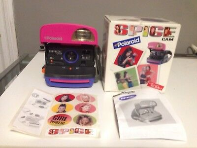 Rare Mint New In Box  Spice Girls Cam Polaroid 600 Camera As Impossible Project