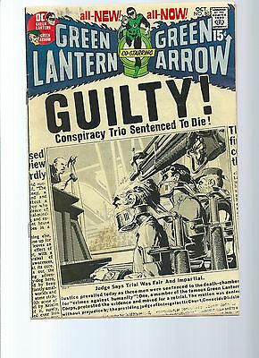 Green Lantern #77 and # 80 - late silver age/early bronze age classics