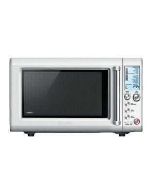 NEW BMO700BSS The Quick Touch Crisp Inverter Microwave: Brushed Stainless Steel