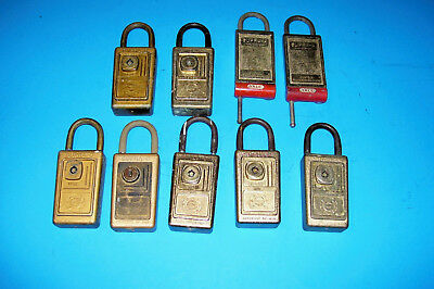 Vintage Lockboxes (9) Realtor Key Lock Box.. Supra