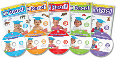Dr Titzer's Your Baby Can Read Delux Set - baby /tod resource dvds sliding cards
