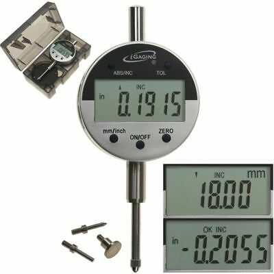 "Digital Electronic Indicator 1""/0.0005"" Gauge 4 Probes Absolute Hold Inch/Metric"