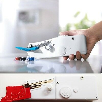 Mini Singer Stitch Portable Household Handy Electric Handheld Sewing Machine