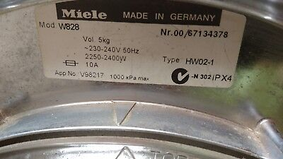 TOP GERMAN QUALITY Miele Front Load Washing Machine W838 5kg