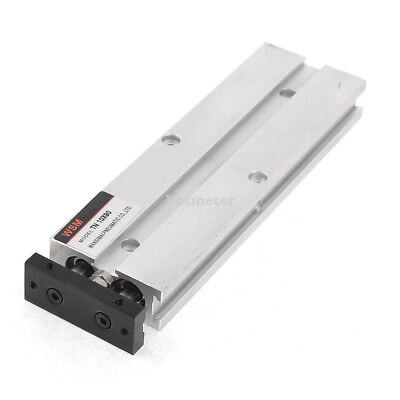 10mmBore 90mm Stroke Double Guard Rods Metal Pneumatic Air Cylinder 15x4.2x1.8cm