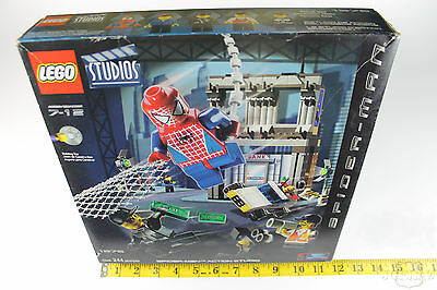 LEGO 1376 Spider man Action Studio Complete set Year 2002 SEALED NEW