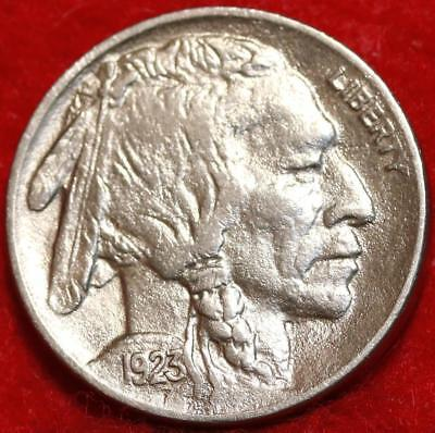 Uncirculated 1923 Philadelphia Mint  Buffalo Nickel Free Shipping