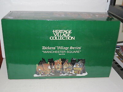 * Mib Department 56 Dickens Village Series Manchester Square 25 (Pcs) *