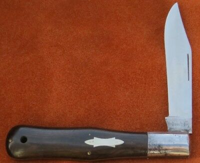 Vintage Antique Folding Pocket Knife Excelsior Hand Forged Hunter RARE 1880-1905