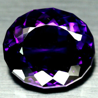 26.58 CT AAA! 18 X 21 mm. PURPLE CLR CHANGE TO PINK BRAZILIAN AMETHYST OVAL