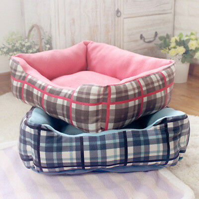 New Large Pet Bed Dog Cat Puppy Kitten Soft Warm Cosy Cushion Plush Mat Comfort