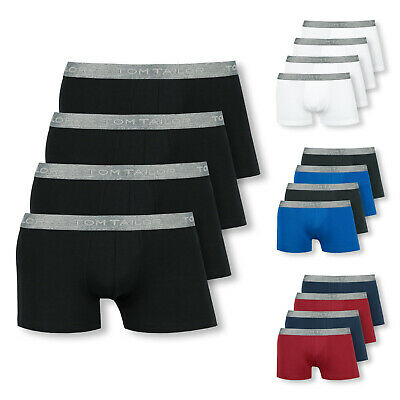 4er Pack Tom Tailor Boxershorts Shorts Pants Boxer Briefs S M L XL XXL Farbwahl