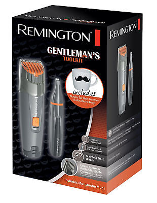 New Remington MB4011 Gentleman's Tool Kit Beard, Moustache, Nose and Ear Trimmer