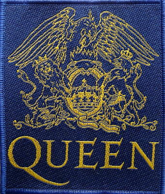 QUEEN PATCH / AUFNÄHER # 20 CREST LOGO - 10x9cm