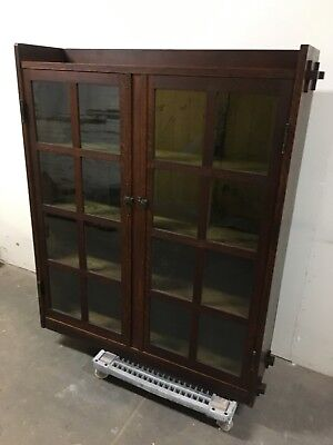 arts & crafts mission bookcase l