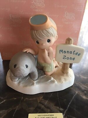 Precious Moments Our Love Will Never Be Endangered #824119S manatee