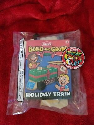 Lowes Build and Grow-HOLIDAY TRAIN with patch