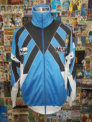 giacca jacket calcio shirt maillot camiseta trikot INTER TG XL UHLSPORT PRO