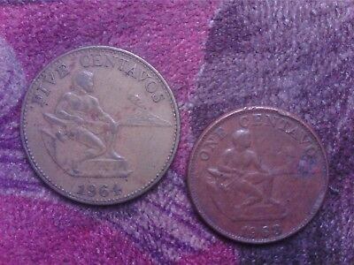 Philippines     1 Cent  1963   5 Cents 1964