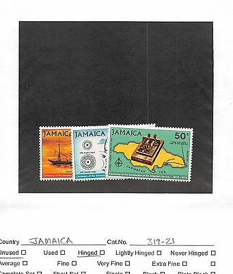 Lot of 102 Jamaica MH Mint Hinged Stamps #103952 X