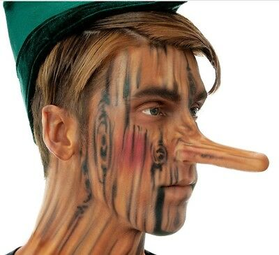 Pinocchio Nose Latex Appliance Long Nose FX Prosthetic Woochie Cinema Secrets