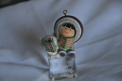 Hallmark Frosty Friends #1 In Series From 1980 (A Cool Yule) Excellent Condition