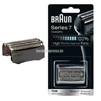 Braun Series 7 70B - replacement foil and cutter 9565 9585 9595 720 730- black
