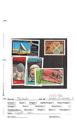Lot of 24 Djibouti MNH Mint Never Hinged Stamps #99569 X R