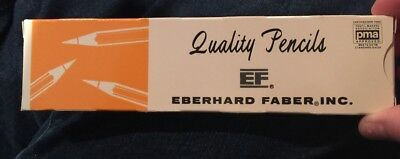 12 Vintage Eberhard Faber Marigold 240 No. # 2 Pencils New In Box Pencil Dozen