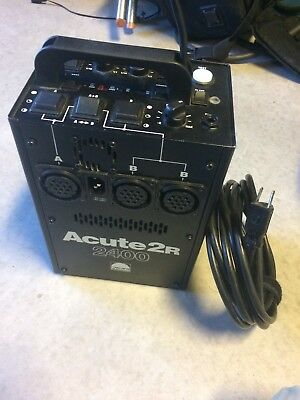 Profoto Acute 2R 2400 | Power Supply - Works Perfect - Minor Physical Wear/Tear