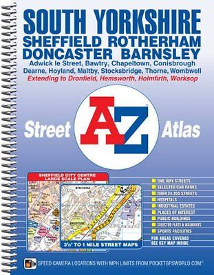 South Yorkshire Street Atlas by Geographers' A-Z Map Co Ltd (Spiral bound, 2015)