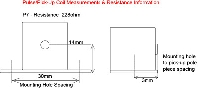 Pick-up Coil - hole spacing 34mm,Honda CR125 (97 on), CR250 (97 on), CR500 (87 o