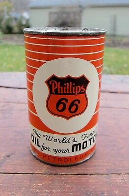 Vintage Phillips 66 Oil Can Bank