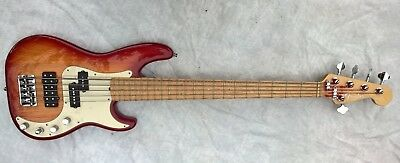 Fender American Deluxe Precision Bass V 2002 Bass Guitar - Mint - Made in USA