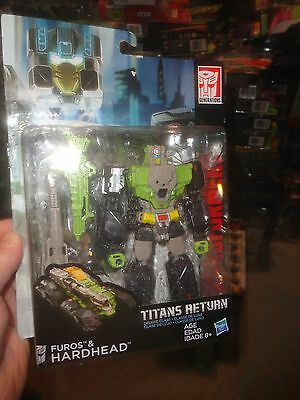 Transformers Titans Return Furos And Hardhead, Never Opened