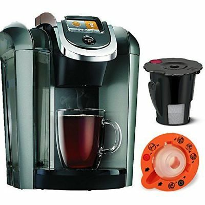Keurig K545 Plus Coffee Maker Single Serve 2.0 Brewing System with Top Needle