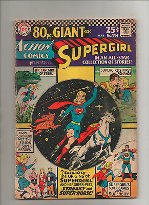 Action Comics #334 - 80 Page Giant! Supergirl - (Grade 3.0) 1966